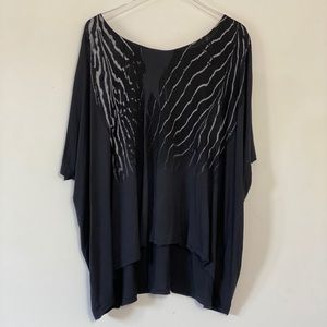 AllSaints Piuma Dream oversized tunic Size M/L